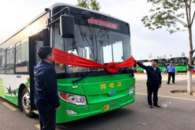 节能减排 公交先行 开沃汽车助力新疆伊宁公交品质新升级