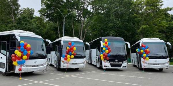 深受俄罗斯人民欢迎的海格客车再次批量交付