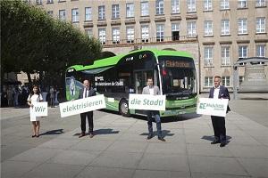 布局全球最后一块汽车高地!比亚迪新能源客车驶进德国