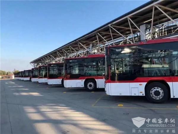 福田欧辉纯电动公交车,助推智利绿色交通转型升级