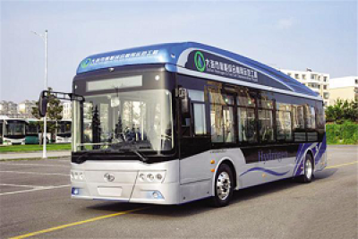 大连首台氢燃料电池城市客车正式下线 预计年底前交付20台