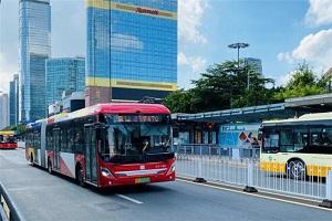 保障运力爱心服务,广州中车电动BRT全力保障学子在开学季顺利返校!