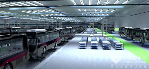 揭秘中车新能源客车超级工厂丨生态篇