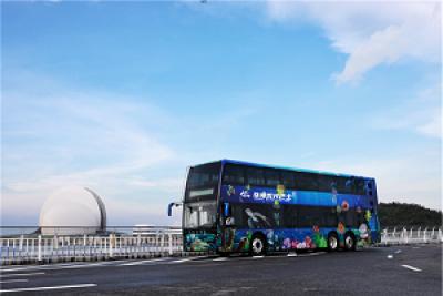 开创出行新模式 珠海首条银隆双层观光巴士专线来了