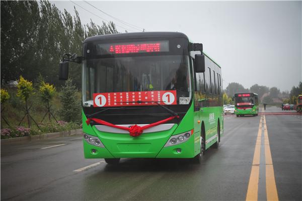 服务美好出行! 60辆宇通新能源公交车助力内蒙敖汉旗公交改革