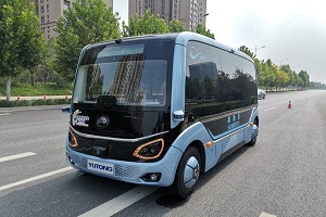 郑州高新区投入4辆5G无人驾驶网约巴士,市民手机可约车免费体验天健