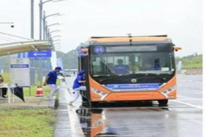夺魁!中通赢CAB-C全国自动驾驶挑战赛大型客车组第一名