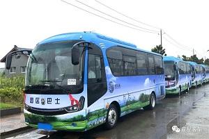 亚星定制化客车全新服务 射阳港迎来专属座驾