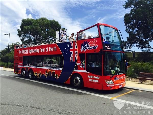 乘上安凯双层观光巴士 纵览澳洲大美城市风光
