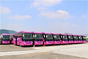 57台比亚迪C8投运机场快线 助力深圳打造首支纯电动机场快线车队