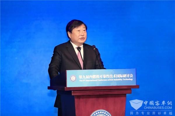 谭旭光:开放、共享、共赢,助推中国内燃机行业走向世界一流