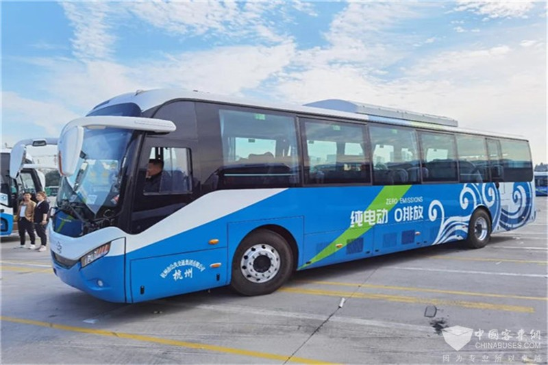 银隆新能源公交第四次交付杭州