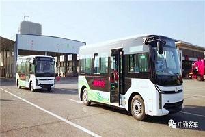 面世一月有余,这款微循环公交迎来国内外客户批量订单