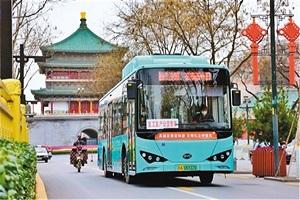 公交机动化出行分担率达61.69% 西安公交服务升级,市民出行无忧