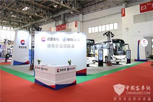 交通强国 绿色领航 申龙精品客车出征北京道路运输展