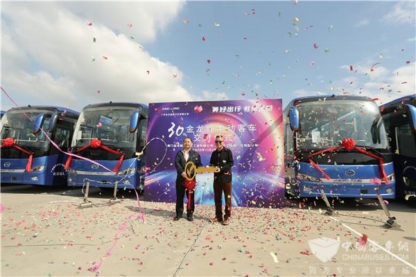影响中国客车业|老朋友喜迎新伙伴 广州交通旅行社这样评价金龙电动巴士