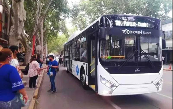 中通客车成阿根廷门多萨绿色出行首选