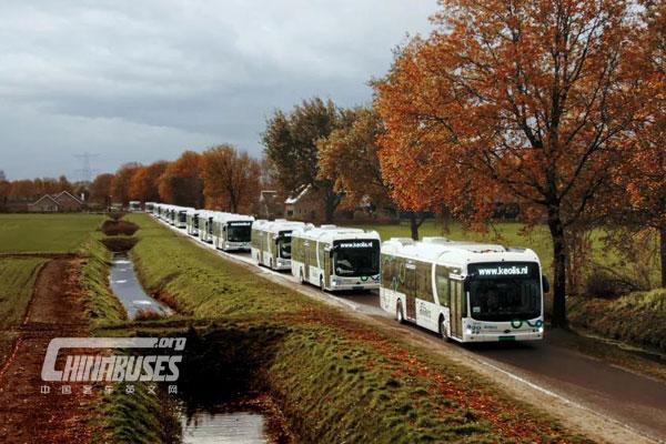 """全欧最大纯电动大巴车队如期交付 比亚迪绿色新能源战略交""""高分答卷"""""""