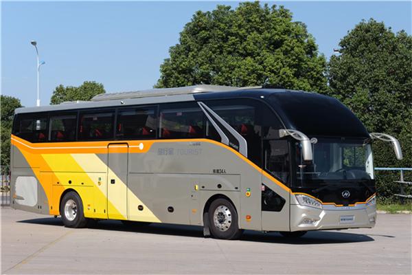 海格KLQ6127BAE51客车(柴油国五24-56座)