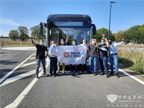 新华社喜讯:中车智慧巴士新年在巴黎开跑!