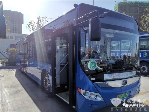 森鹏科技电子后视镜在青岛公交的应用