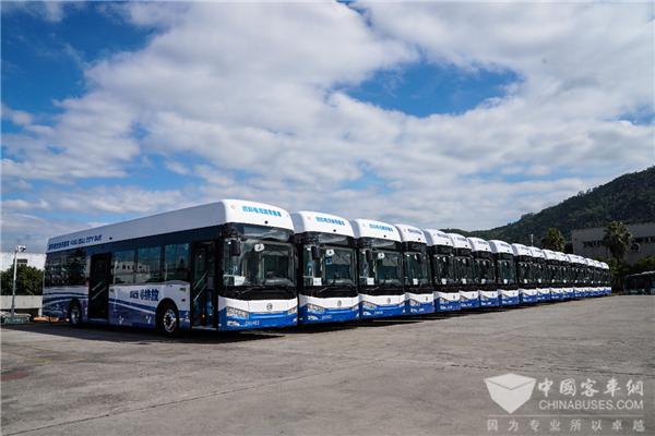 """2020金旅氢燃料电池客车交出了怎样的""""成绩单""""?"""