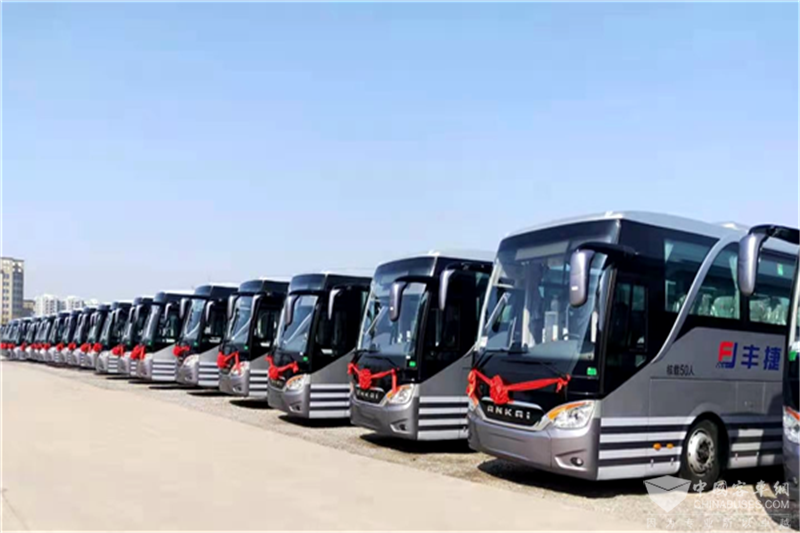 """安凯A9高端客车批量交付""""草莓之都"""""""