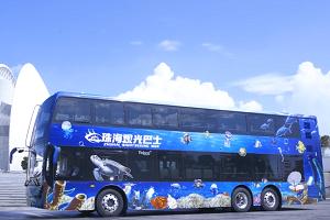 银隆新能源双层观光巴士 赋予城市观光新定义