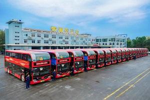 解锁幸福密码 20辆宇通双层巴士驶进温州