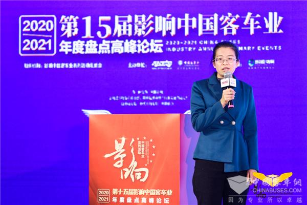 客车英文网张艳婷:中国客车国际营销形式与品牌观察导向