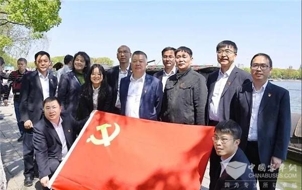 坚持党建引领 中车电动召开党史学习教育动员部署会