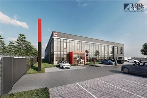 康明斯全新燃料电池系统工厂在德国破土动工