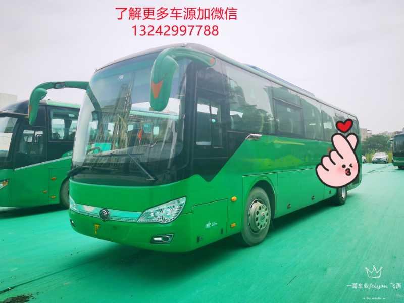 国四53座旅游客运潍柴机宇通6116型客车