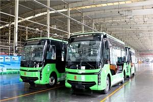 """助阵新型""""智慧城市""""建设 中通客车睿通V60服务西咸公交DD巴士"""