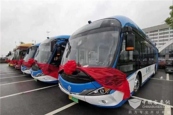 助建城乡公交一体化 银隆新能源公交首入海门