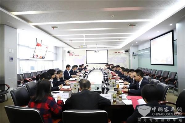 强化党建引领 中车电动党委中心组举行2021年第三次专题学习研讨