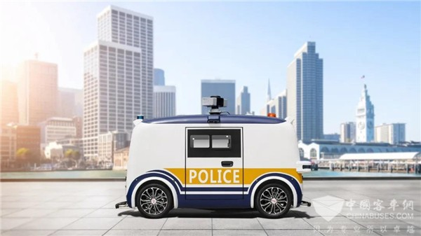 践行科技向善 金龙客车自动驾驶安防车GAPA重磅发布
