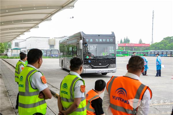 """关于参加""""第六届(2021)宇通杯全国公交驾驶员节能技术大赛""""总决赛的通知"""
