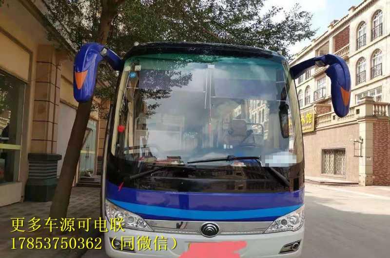 宇通6116型17年5月 50座 国5车  旅游客运