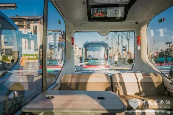 自动驾驶落地新案例!在黄河滩地公园乘宇通小宇2.0是怎样的体验?