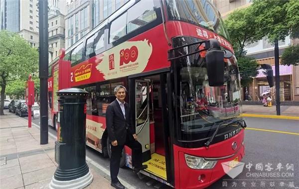 """感知城市荣光 安凯双层巴士带您打卡上海""""红色地标"""""""