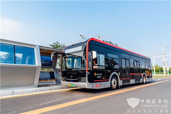 全国70余家公交企业参观体验! 宇通5G自动驾驶公交示范项目获赞