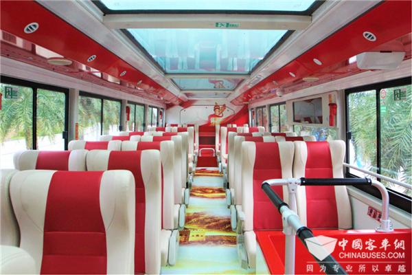 """建党百年""""红游""""升温 银隆双层观光巴士带您追忆光辉岁月"""