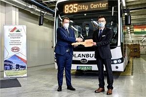 多瑙河两岸的绿色明珠 比亚迪交付首台跨国运营纯电动巴士