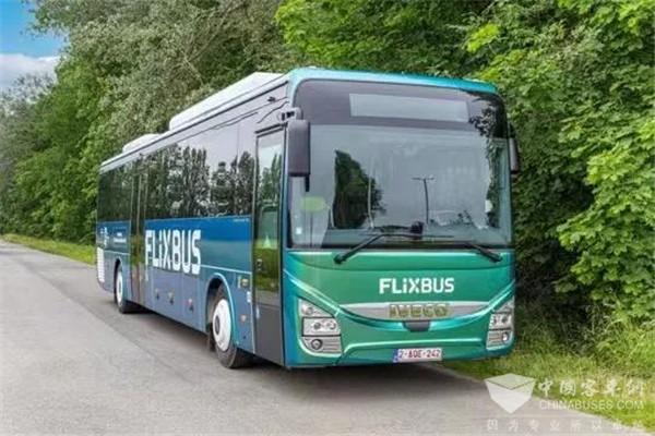 欧洲最大的长途巴士运营商FlixBus采购依维柯Crossway CNG客车