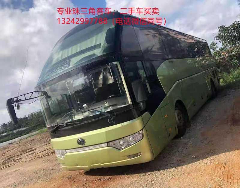 2016年6月 两台同款51座气囊中门宇通6122客车