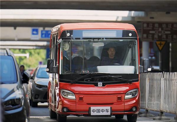 无V不至 与城共5!中车电动V5 您梦想中的微循环巴士