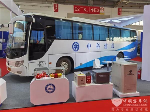 2021北京道路运输车辆展 中科汽车集中展示前沿科技成果