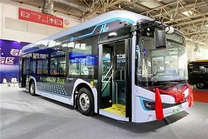 2021北京道展 地铁巴士家族再添新成员 盘毂动力解决方案引领科技发展潮流
