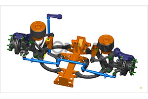 上海科曼5.0T级独立悬架系统